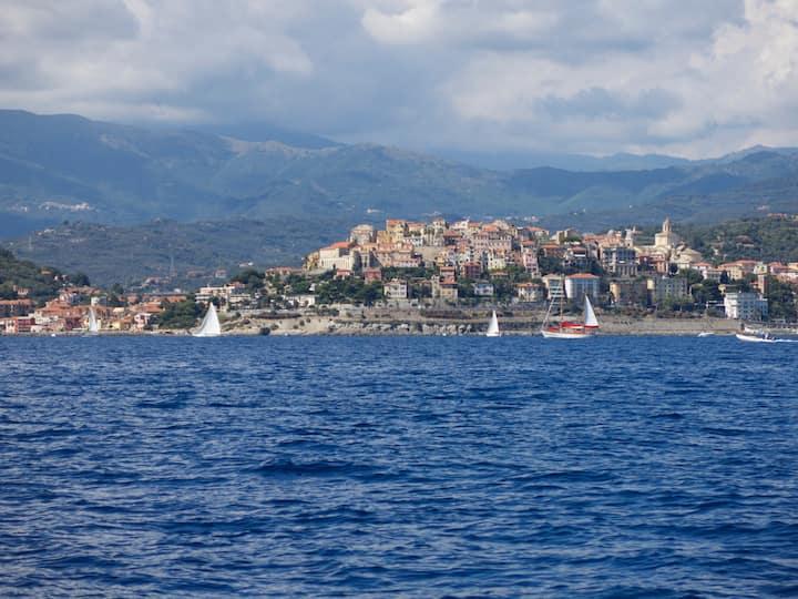 Casa di Rosa, centrale, tranquilla, vicino al mare