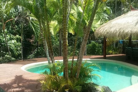 A private house in a tranquil bush setting. - Buderim - Dom