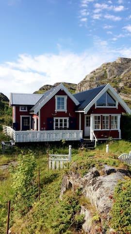 Sharming cabin in Sund - Flakstad  - Kulübe