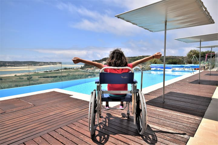 Great villa for families / kids, disabled holidays