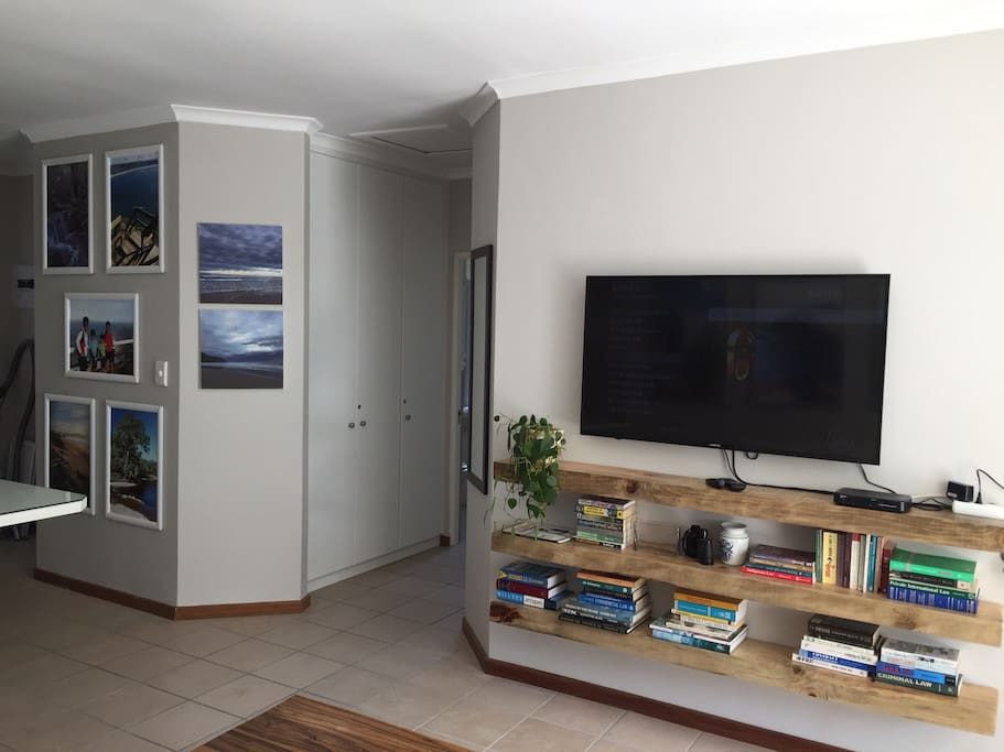 """50"""" LED Flat Screen TV with DSTV satellite TV included ... for those rainy days!"""