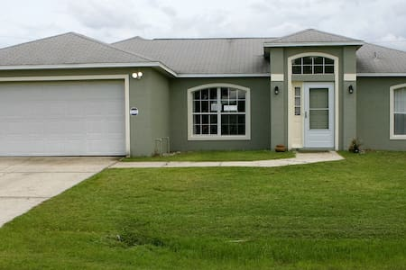 Family vacation 3 bed 2 bath house - Palm Bay - House