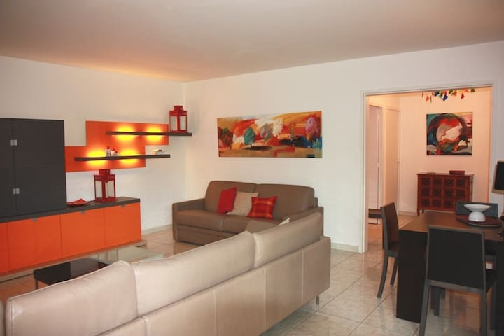 Cannes center - residence with pool - Cannes - Daire