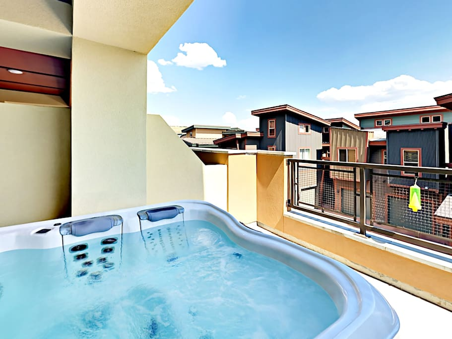 What better way to relax than in your very own hot tub!