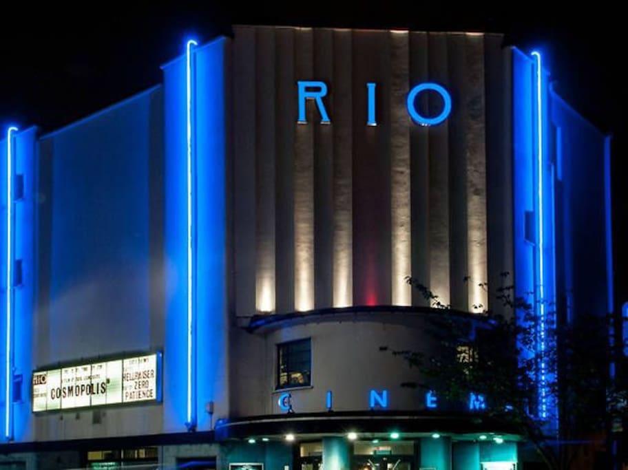 Art Deco cinema next door