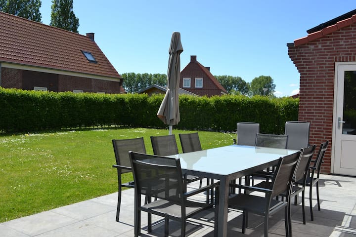 Modern Holiday Home in Breskens with Terrace