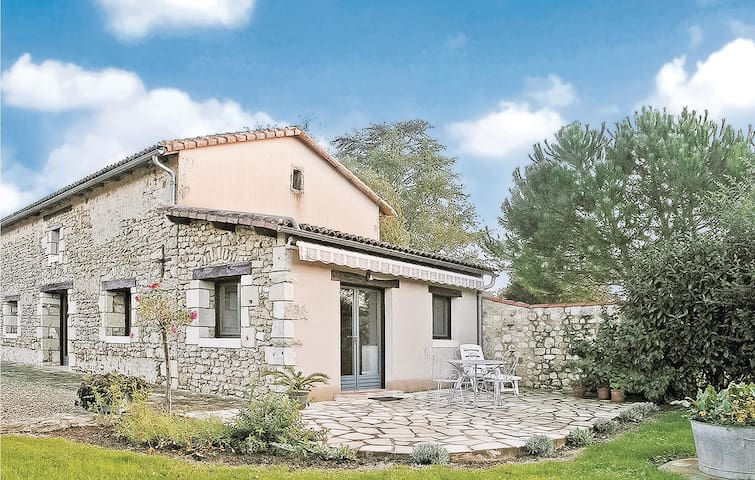 Awesome home in Nouaille Maupertuis with WiFi and 1 Bedrooms