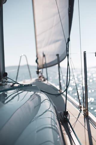 Gurcan's New  Life Sailing Boat