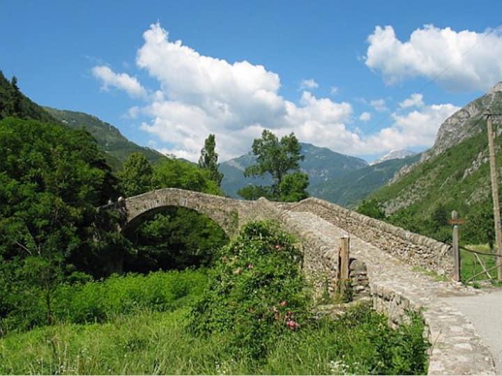 2 pièces la Brigue vallée de la Roya