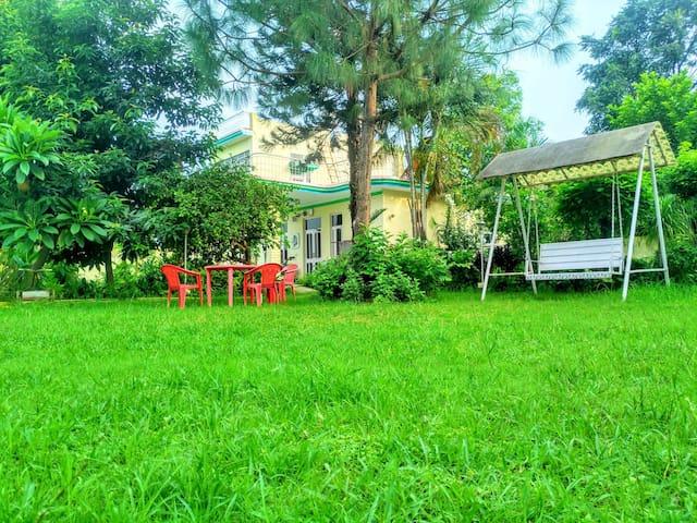 Silver Oak Farm Stay - Shivalik Room (A/C & WiFi)