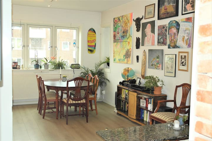 Beautiful urban appartement close to city centre