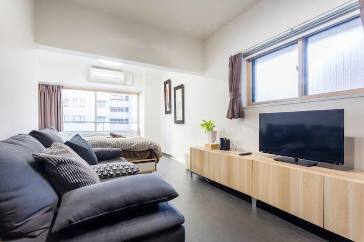 701 - Minutes from Roppongi Hills! 1min Sta. - Minato-ku - Apartamento
