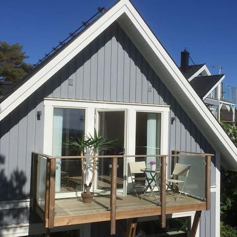 Havsnära lägenhet/studio