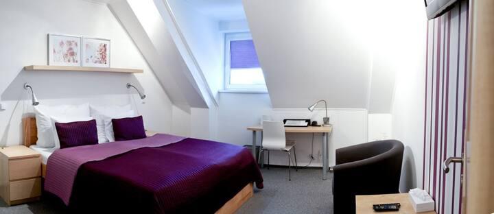 Rodinný pokoj s oddělenými pokoji