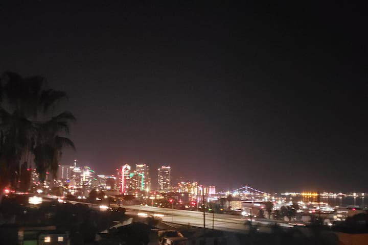 Downtown Views Large Condo Wifi NO CLEANING FEES!!