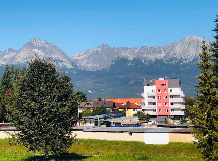 Hight Tatra Mountain Large Penthouse with views