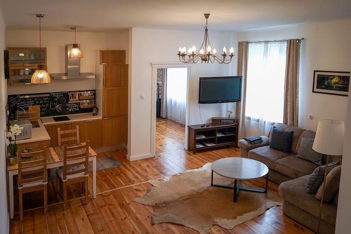 Stylowy Apartament w Kamienicy