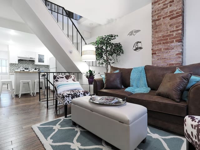 BmoreAtHome: Modern Rowhouse in Fed Hill/Harbor-5 - Baltimore - Casa