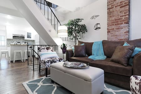 BmoreAtHome: Modern Rowhouse in Fed Hill/Harbor-5 - Baltimore - House