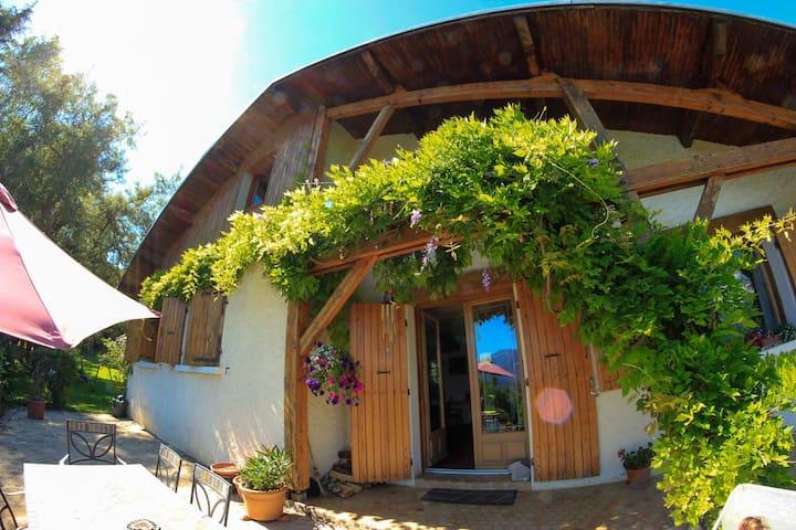 Maison de charme en Chartreuse