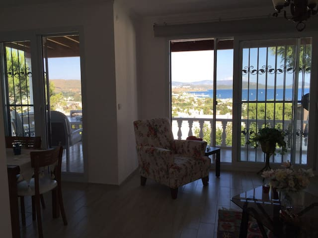 Amazing sea view dublex villa - Bodrum