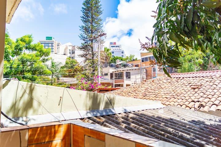 Apartamento con Balcon Completamente Equipado