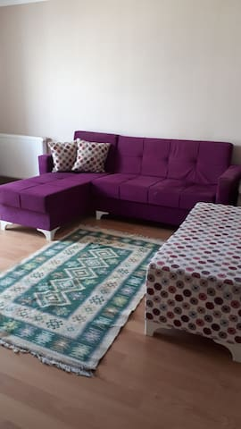 Room/ an apartment 5 min from old Ataturk Airport