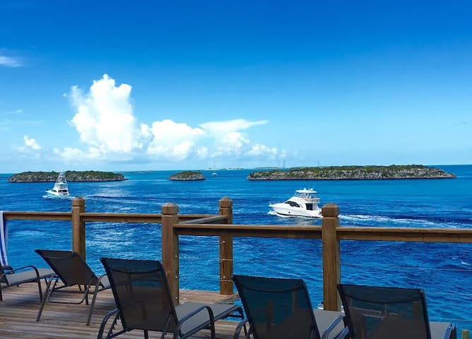 Staniel Cay Luxury New 5BR/4bath Oceanfront Home