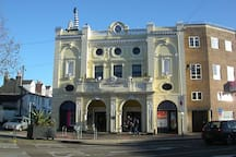 The Duke of York's Cinema (part of Brighton's 'Komedia'). The excellent local art-house cinema. They also do premiere events where mainstream films are shown, but with that little bit more style. There is also a bar and food available.