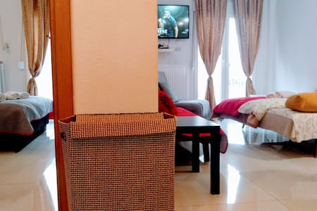 ⭐Apartment 100m from sea and 10 min from airport⭐
