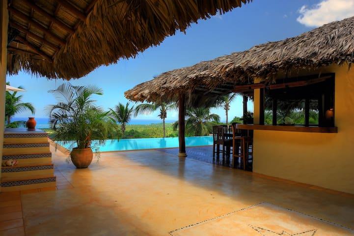 Large Caribbean Villa w/stunning view on the ocean - Las Terrenas - Villa
