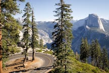 Yosemite NP eastern entrance (Tioga Pass) is only 40 minutes away!