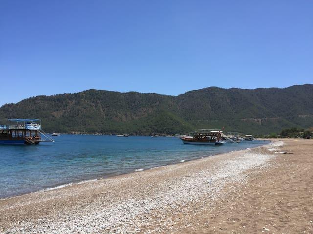 Ferienwohnung für 6-8 Personen 100m vom Strand - Adrasan Belediyesi - Apartemen