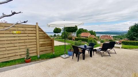 Studio de vacances vue sur le lac de Morat