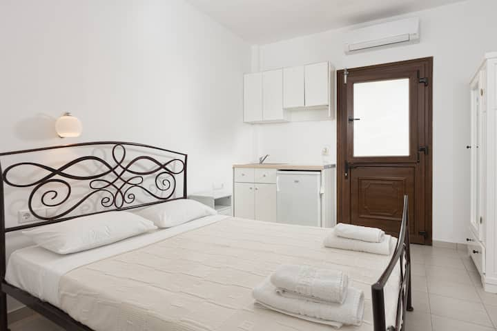 Superior private double studio Naxos town