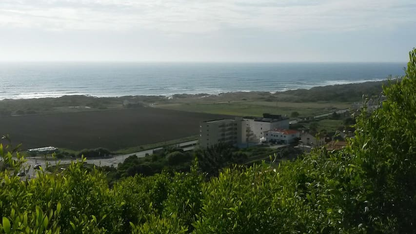 Bel appart  vue sur mer et montagne - Afife - Apartemen