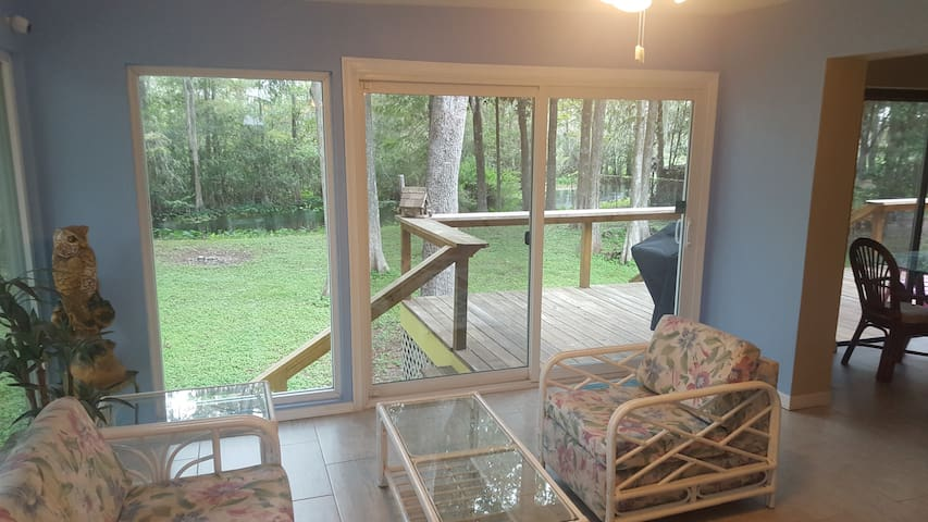 **Withlacoochee River house **Quiet Waterfront*!!
