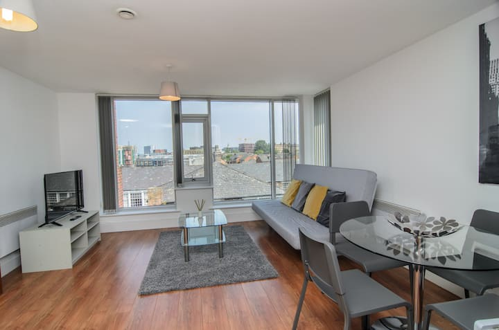 Luxury One Bed Apartment In Liverpool City Centre