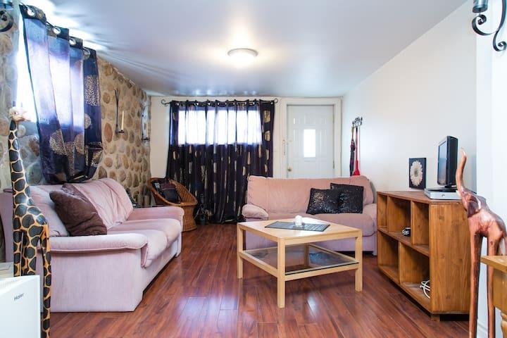 Cozy nest with PARKING - Montreal - Apartamento
