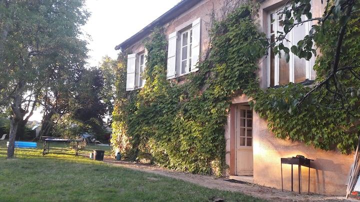 Maison de Famille en Bourgogne du Sud