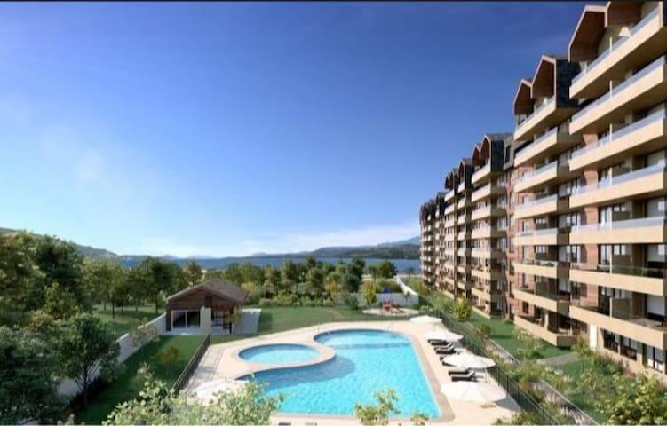 Departamento Condominio Playa Costanera Villarrica