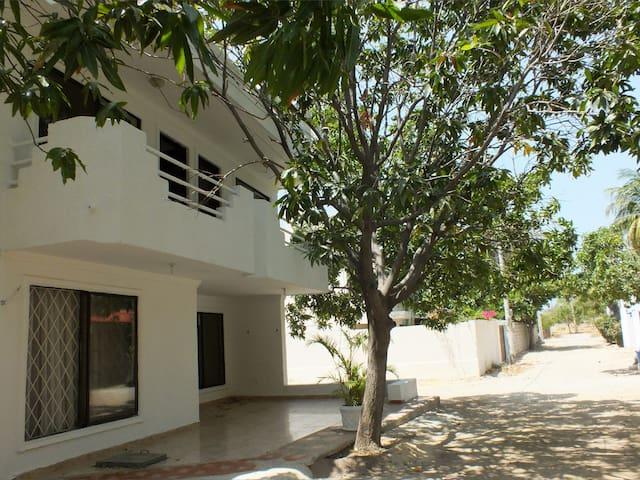 Habitación privada con 4 Camas
