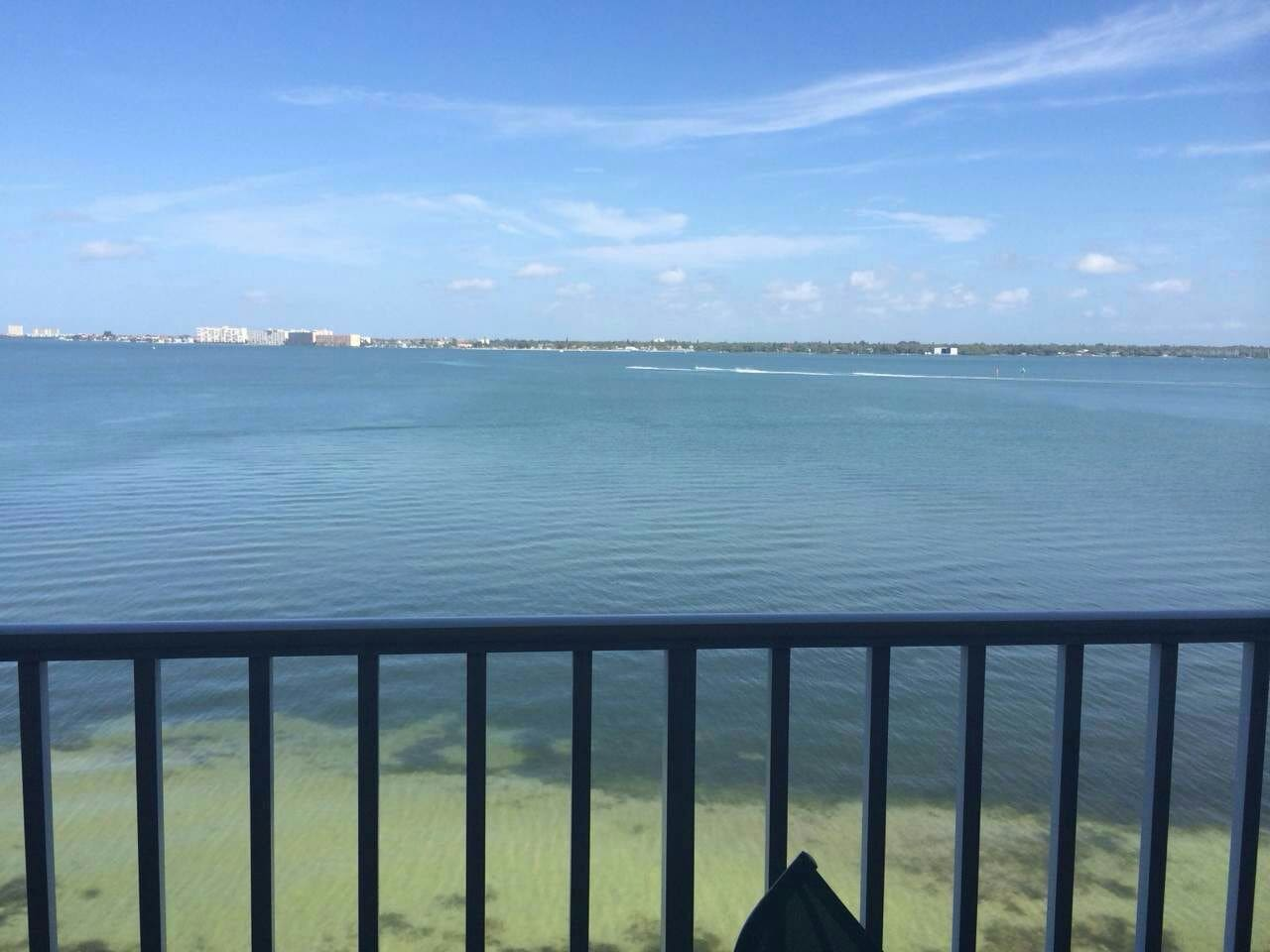 true ocean front private penthouse with beautiful view