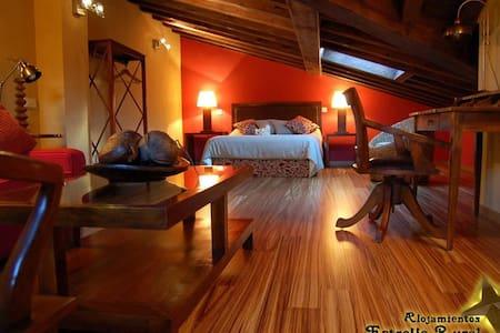Estrella rural, 7 alojamientos y salón-vinoteca. - Braojos - Casa