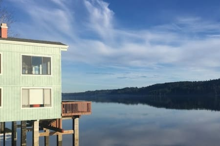 Pier style, loft home on the Hood Canal