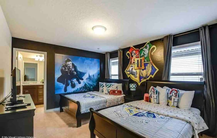Orlando-Harry Potter room w Bath near Disney