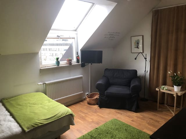 Apartment with nice view in downtown Stockholm