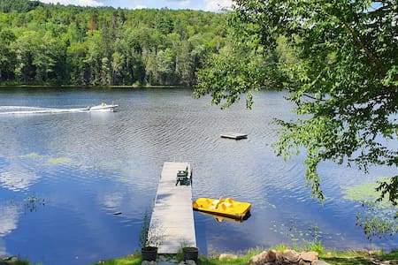 Private waterfront cottage on beautiful Mink Lake