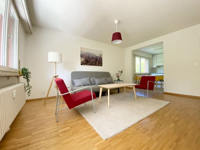 Bright apartment near park, 2 bedrooms, 4th floor