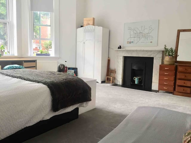 Bedroom 2 - Double bed and sofa bed